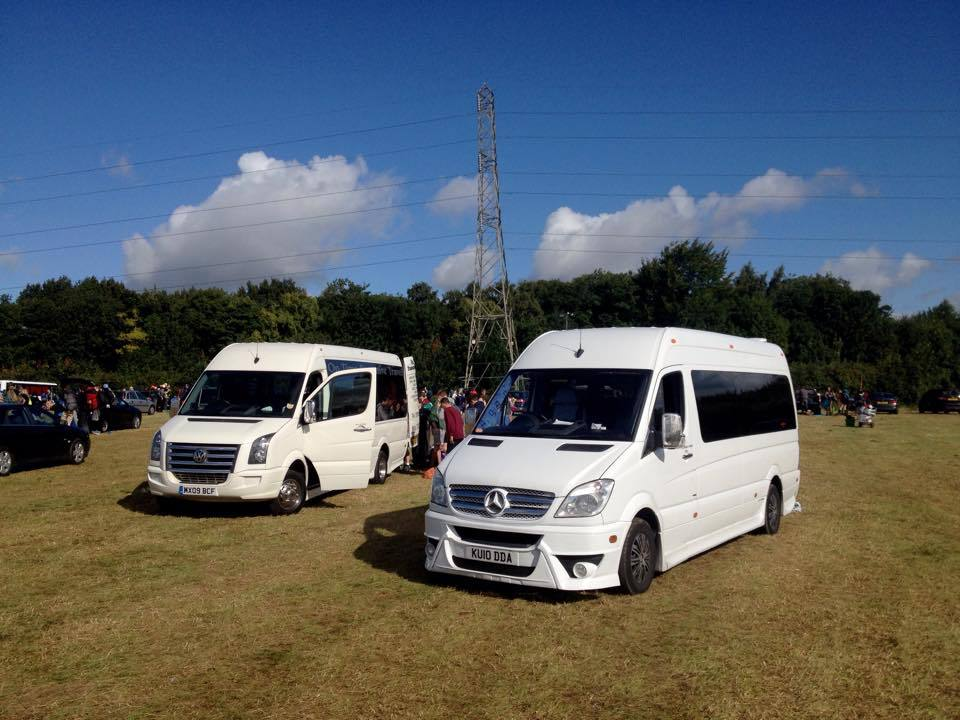 Derby Executive Minibus Hire (Chauffeur, Luxury, VIP) in Derby